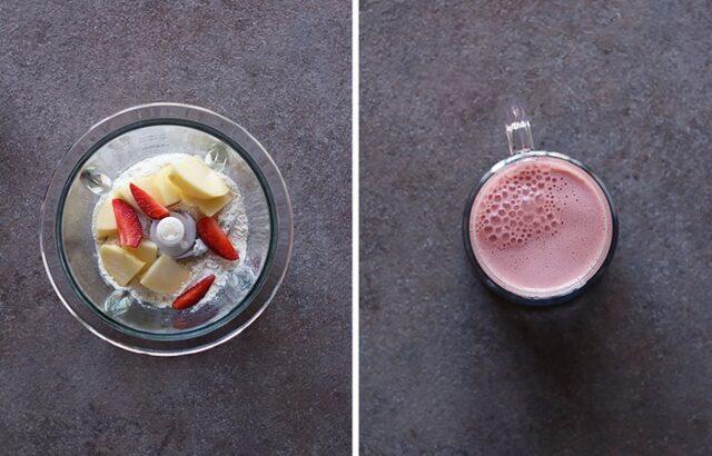 Voici une recette de smoothie minceur