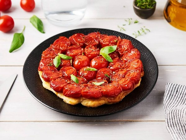 Tarte tatin de tomate caramélisée pour vos repas d'été